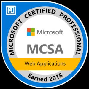 mcsa-web-applications-certified-2018